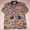 Camouflage cotton army Tshirt