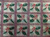 Christmas Decoration Cheap Crystal Organza Fabric