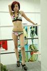ladies sublimated printing bikini