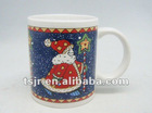 11 oz christmas porcelain mug