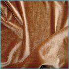 90% polyester 10spandex velvet tricot fabric