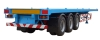 40Feet Tri-axles Flatbed Container Semi Trailer