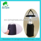 solar recharge lantern design LED camping light