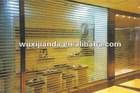 polycarbonate transparent roller shutter door/PC rolling door/crystal roll up door