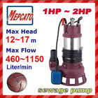 CS2.75S(1HP) industrial submersible water pump series