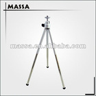 OEM Aluminum mini table flexiable tripod, 3 section leg tripod(metal head)