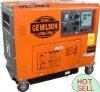 6kw Diesel Quiet Generator Sets with Wheels (GE6900LN)