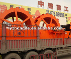 high efficient Industrial XS series sand washer machine maded by Luoyang Zhongde