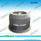 Scania heavy duty truck brake drums 1414435