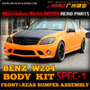2012 Benz W204 car aero partswith PP material