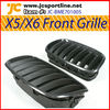 X5 X6 carbon car grille front bumper grill mesh grille for BMW