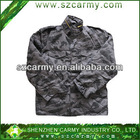 Military camouflage jacket, military winter jacket, quilted jacket,