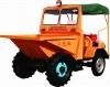 FCY-15 mini hydraulic dumper 1.5ton