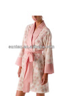 new style fashion casual Lady's pajama dress 100% combed cotton yarn dyed
