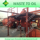 Pyrolysis plant for waste tyres and plastic