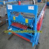 Corrugated tile forming machine