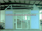 aluminum tents with glass door for party/guangzhou party tent