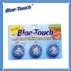 3pcs Durable Automatic Toilet Bowl Cleaner/ Blue Bubble