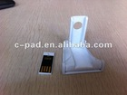 Foldable Plastic mobile phone stand with Flash Drive 2012 Hot selling Chrismas gift