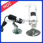 200x Portable USB Digital Microscope With 8 LED Lights