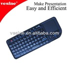 mini size silicone industrial keyboard with touchpad