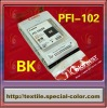 PFI-102 Cartridge Ink IPF600 Ink BK
