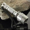 aluminum waterproof cree Q5 led tactical rechargeable brightest flashlight