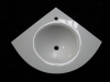 non-porous crystallized glass basin