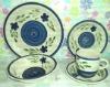 Ceramic 20pcs stoneware hand painted dinner sets