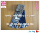 Animal pattern double-deck winter children knitted scarf