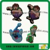 Funny Design Soft Rubber Pencil Topper