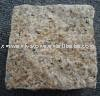Paving stone,stone cube,cube stone,yellow granite