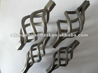 wrought iron decorative wicker door baskets