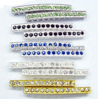 Jewelry findings wholesale fashion rhinestones bends assorted, high quality, low price