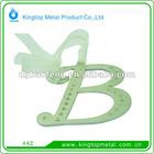 Metal Xmas letter pendant
