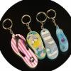 flip-flop 3D soft PVC keychain