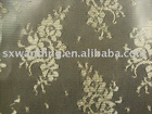 nylon polyester printed lace jacquard fabric