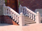 Hand Carved White Marble Handrails Stairs