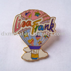 fire balloon metal emblem lapel pin for event giveaway
