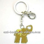 2012 hot sale elephant metal keychain made in China