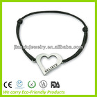 Charm bracelet with Metal heart shape pendant
