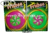 9 inch big frisbee W/silk screening outdoor toys