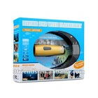 HD sports camera GD2709 Waterproof Camera with Flashlight LED for Recording in Darkness and Underwater
