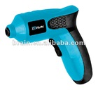 2.4V-3.6V Lithium Battery Rechargeable Cordless Screwdriver