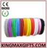 Silicone bracelets with deboss logo