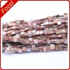 Natural color shell beads strand