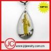 buddas glass pendant