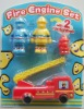 plastic Fire engine Set -AF13617