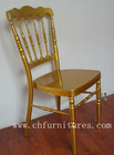 YC-A112 Durable and Nice Gold royal wedding Chair