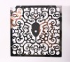 flower design of stainless steel screen, decorative metal panel